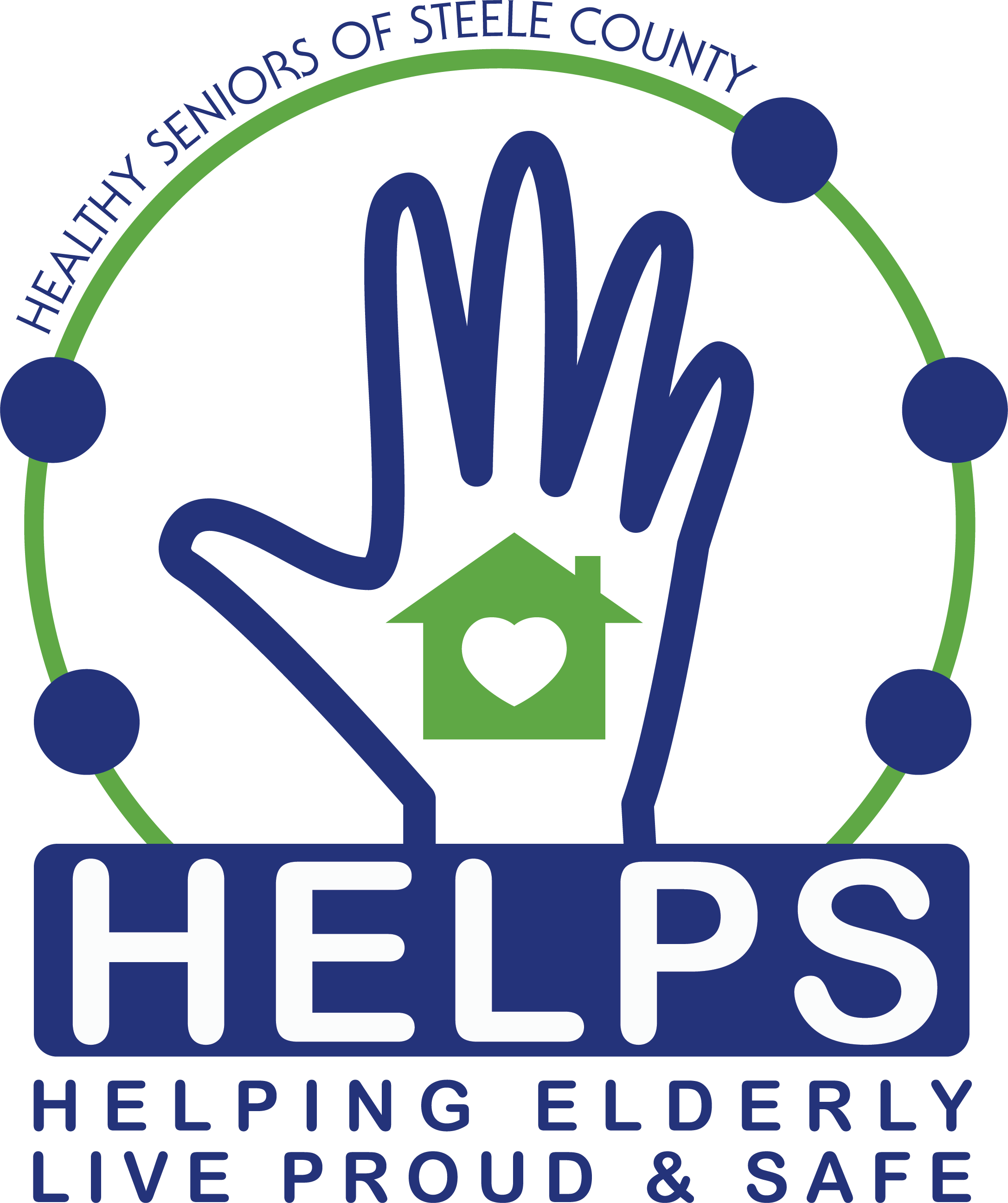 Healthy Seniors of Steele County - Helping Elderly Live Proud & Safe Logo